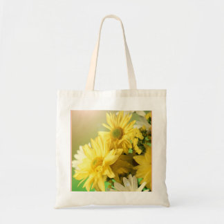 Yellow Daisies Canvas Bags