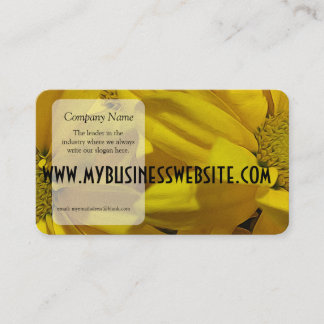 Yellow Daisies Business Card