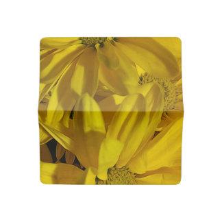 Yellow Daisies Checkbook Cover
