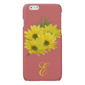 Yellow Daisies Customizable Glossy iPhone 6 Case