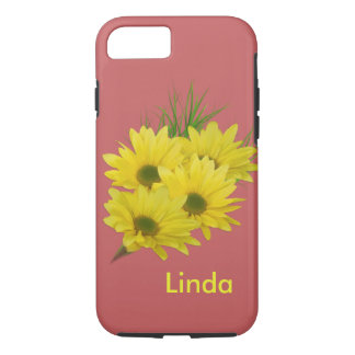 Yellow Daisies, Customizable Name iPhone 8/7 Case