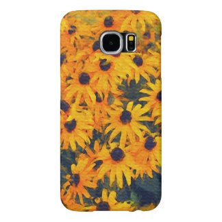 Yellow Daisies Flower-lovers Floral Art Samsung Galaxy S6 Case