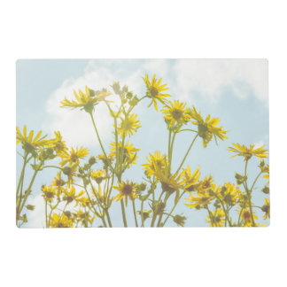 Yellow Daisies Flowers Laminated Place Mat