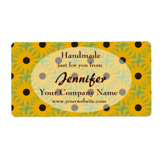 Yellow Daisies Handmade By Business Label