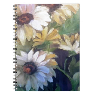 Yellow daisies note book