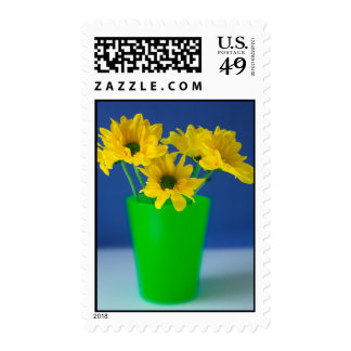 Yellow Daisies Postage Stamps