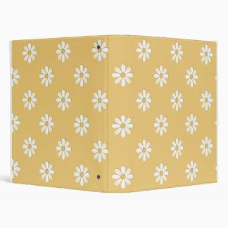 Yellow Daisies School Notebook Binder