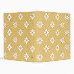 Yellow Daisies School Notebook Binders