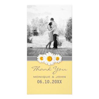Yellow Daisies Sweet Wedding Thank You Card