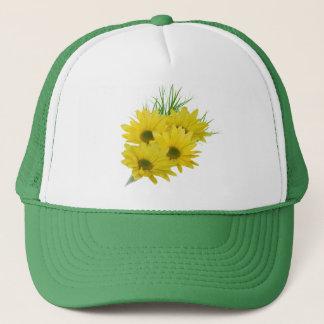 Yellow Daisies Trucker Hat