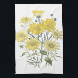 "Yellow Daisies Wildflowers Towels<br><div class=""desc"">Yellow Daisies and other Wildflowers Kitchen Towels</div>"