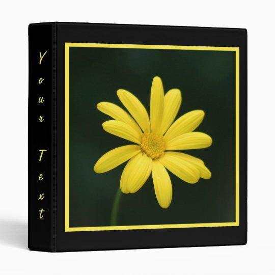 Yellow Daisy  Binder
