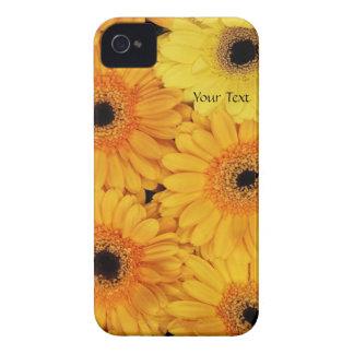 Yellow Daisy Blackberry Case