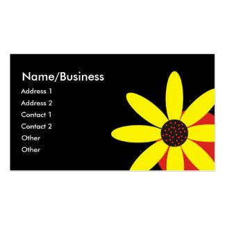 Yellow Daisy Business Card