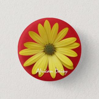 Yellow Daisy Button/Pin Pinback Button