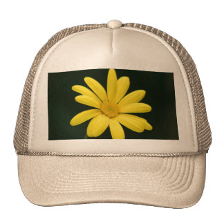 Yellow Daisy cap Trucker Hat