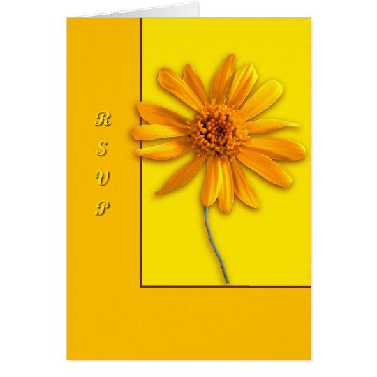 Yellow Daisy Card