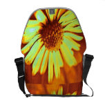 Yellow Daisy Courier Bags