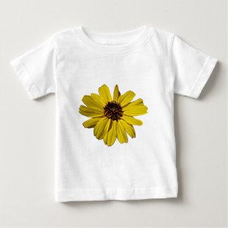 Yellow Daisy Flower Baby T-Shirt