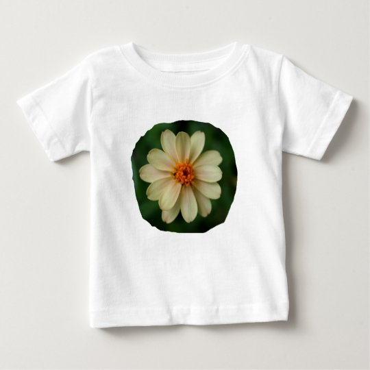 Yellow Daisy Flower green background close up Baby T-Shirt