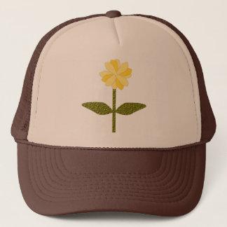 Yellow Daisy Flower Hat