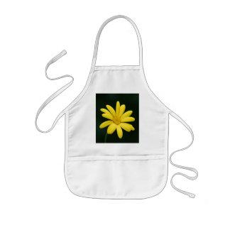 Yellow Daisy kids apron