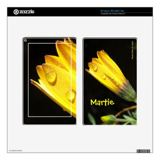 Yellow Daisy - Kindle Fire Skin