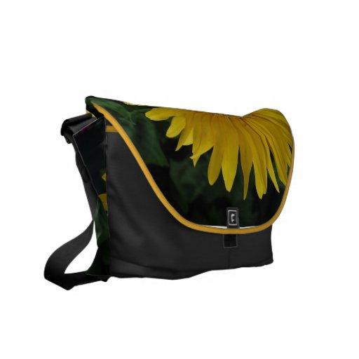 Yellow Daisy Messenger Bag