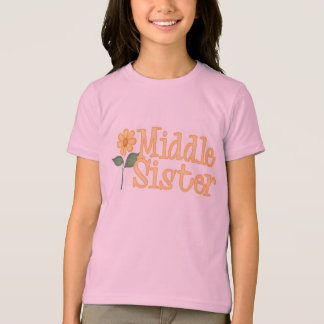Yellow Daisy Middle Sister T-shirts