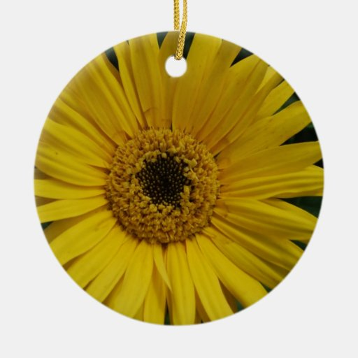 Yellow Daisy Ornament