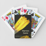 Yellow Daisy Playing Cards