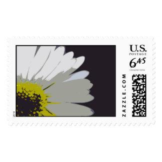yellow daisy postage