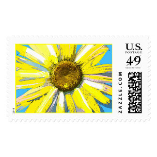 Yellow Daisy ,  Postage Stamp
