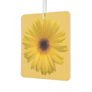 Yellow Daisy Square Air Freshener