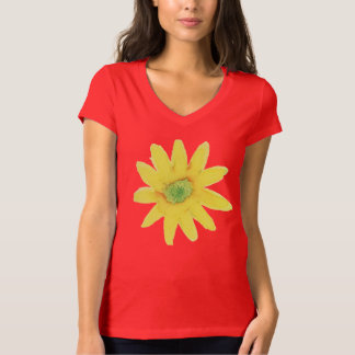 Yellow Daisy Water Color paintingP T-Shirt
