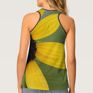 Yellow Daisy Wildflower Nature Personalized Tank Top