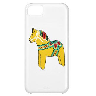 Yellow Dala Horse iPhone 5C Cases