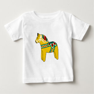 Yellow Dala Horse Infant T-shirt