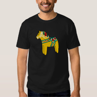 Yellow Dala Horse T-shirt