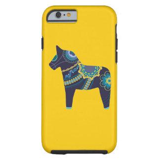 Yellow Dala Horse Tough iPhone 6 Case