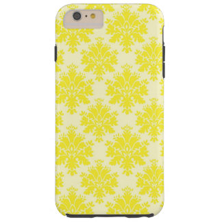 Yellow Damask Pattern iPhone 6 plus tough case Tough iPhone 6 Plus Case