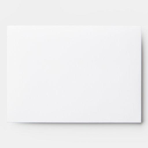 Yellow Damask Personal Envelope A7 size