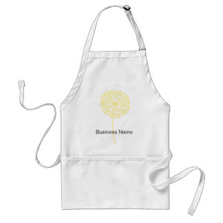 Yellow Dandelion Customizable Apron