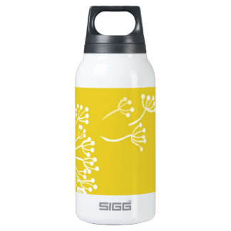 Yellow Dandelion Design 10 Oz Insulated SIGG Thermos Water Bottle