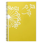 Yellow Dandelion Design Notebook