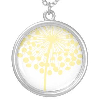 Yellow Dandelion Necklace