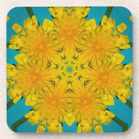 Yellow Dandelion Nov 2012 Beverage Coaster