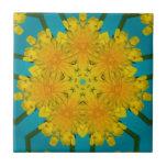 Yellow Dandelion Nov 2012 Ceramic Tiles