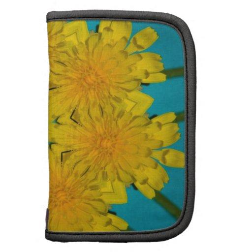 Yellow Dandelion Nov 2012 Folio Planner
