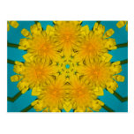 Yellow Dandelion Nov 2012 Postcard